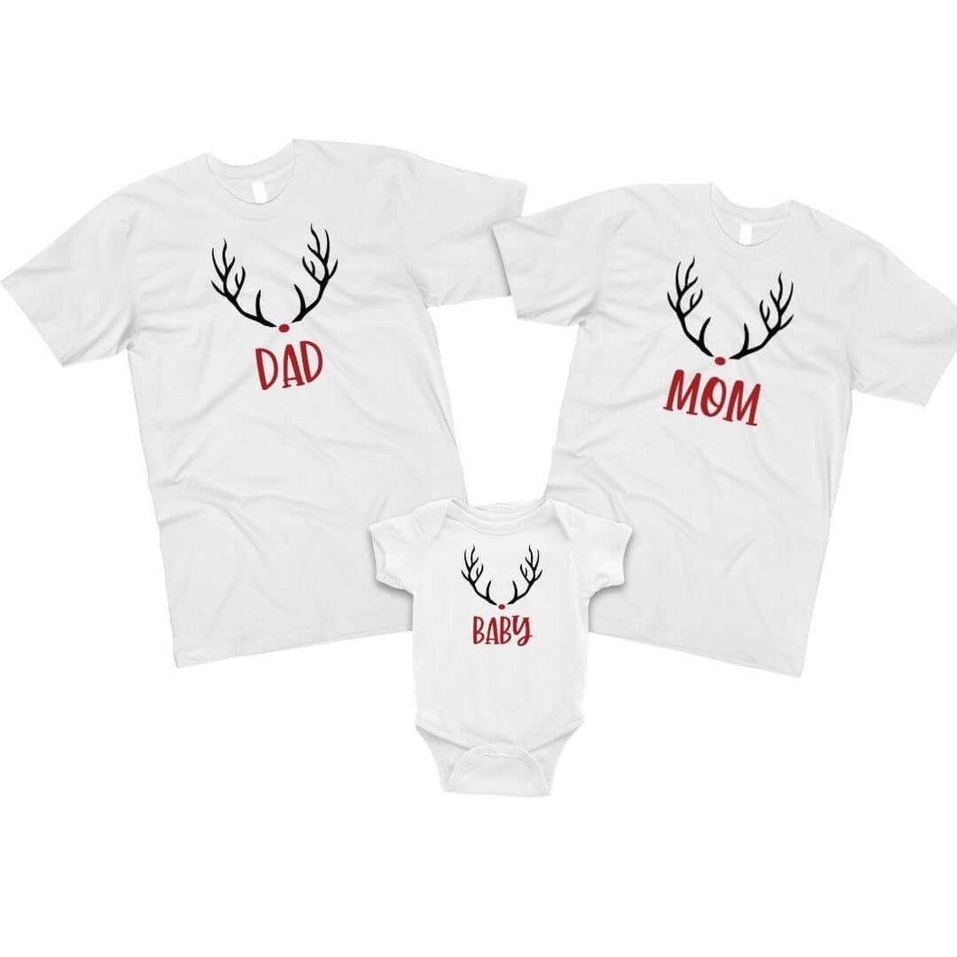 Family Christmas T-Shirt Set