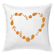 Load image into Gallery viewer, Fall Heart Pillow | Pillow Cover | Cushion Cover