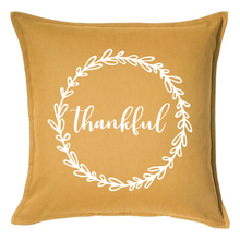 Load image into Gallery viewer, Thankful Pillow | Pillow Cover | Cushion Cover