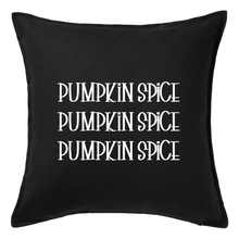 Load image into Gallery viewer, Pumpkin Spice Pillow | Pillow Cover | Cushion Cover