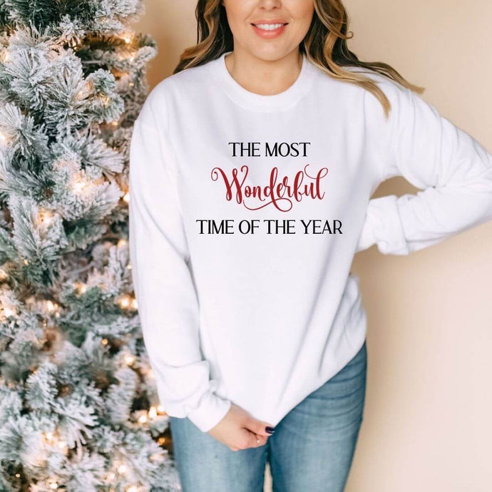 The Most Wonderful Time of the Year Crewneck Sweater