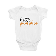 Load image into Gallery viewer, Hello Pumpkin Onesie