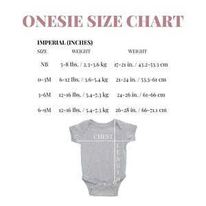 Personalized Baby Announcement Onesie