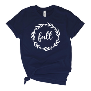 Fall Wreath T-Shirt