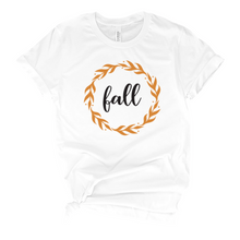 Load image into Gallery viewer, Fall Wreath T-Shirt