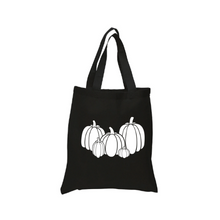 Load image into Gallery viewer, Pumpkin Collection Tote Canvas Bag