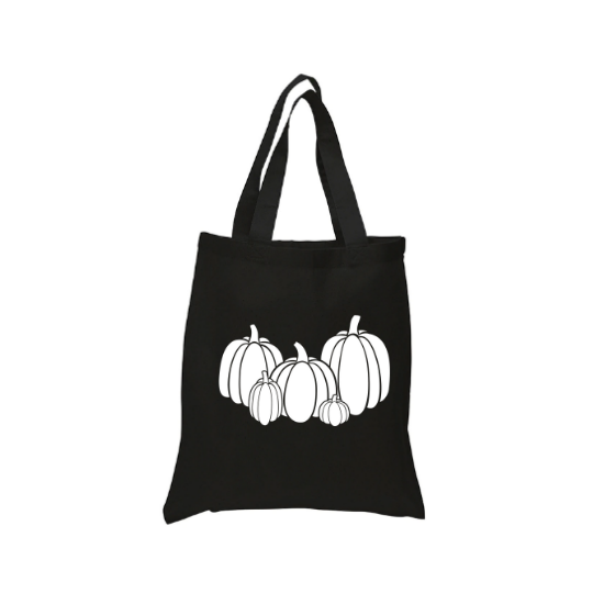 Pumpkin Collection Tote Canvas Bag
