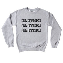 Load image into Gallery viewer, Pumpkin Spice Crewneck Sweater