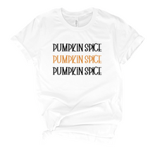 Load image into Gallery viewer, Pumpkin Spice T-Shirt