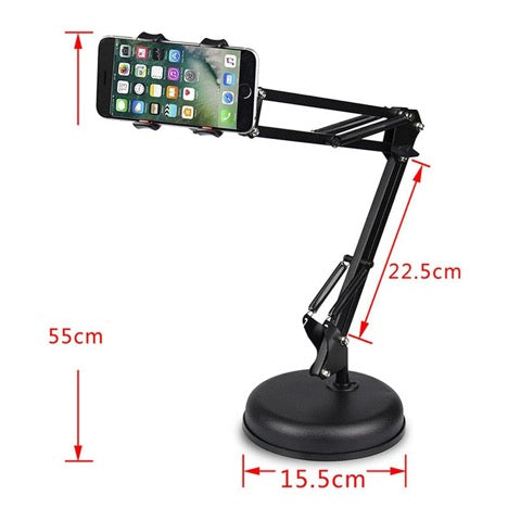 Heavy Duty Long Arm Smart Phone Stand