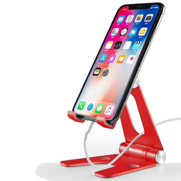 Foldable Aluminum Phone/Tablet Holder