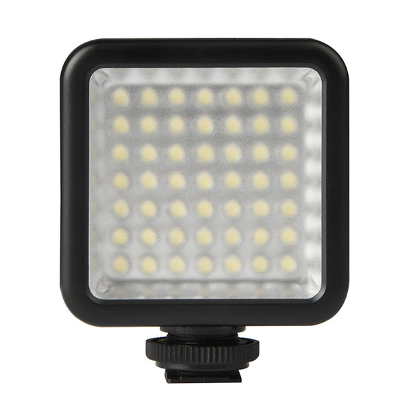 Ulanzi Ultra Bright 49 LED Video Light w. 3 cold shoe mounts