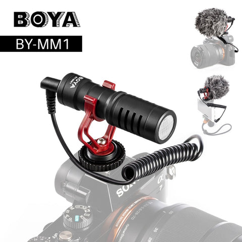 BOYA BY-MM1 Micro Shotgun Microphone