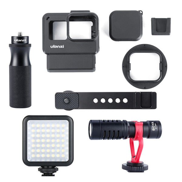 Ulanzi V2 Pro Gopro Vlog Case Kit with 52MM Filter