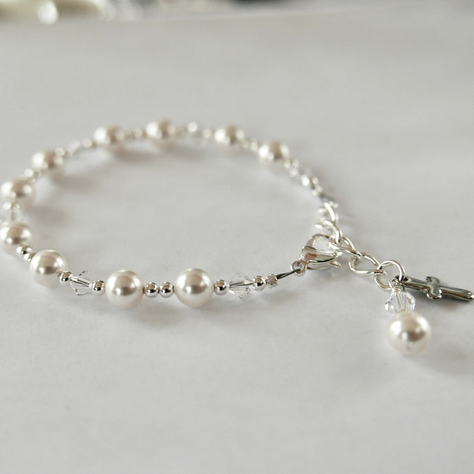 First Communion Bracelet | Easter Bracelet | First Communion Gift