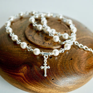 First Communion Necklace | First Communion Confirmation Girl Gift | Wedding Jewelry