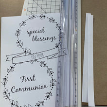 Load image into Gallery viewer, First Communion Printable Card
