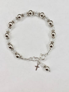 First Communion Gift | Confirmation Gift Girl | Rosary Bracelet | Willow and Bee