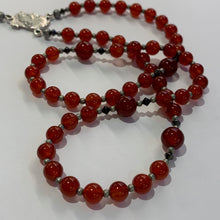 Load image into Gallery viewer, First Communion Carnelian Rosary