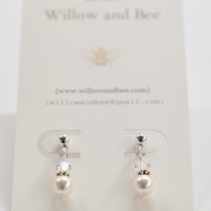 First Communion Jewelry | Confirmation Jewelry | Flower Girl Jewelry | Pearl Earrings