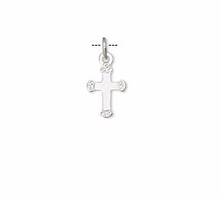 Load image into Gallery viewer, Sterling Silver Cross