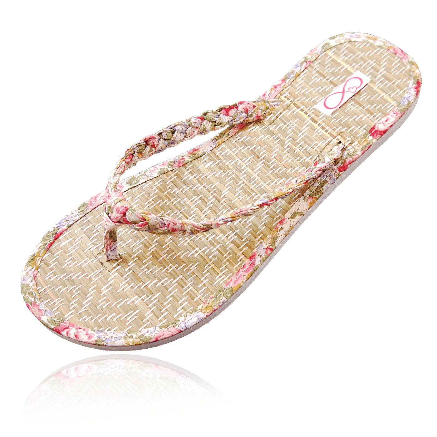 10 Pairs of pink beach flip-flops in a Party box
