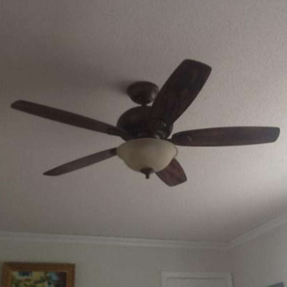 Southwind 52 In Led Indoor Venetian Bronze Ceiling Fan With Light Kit And Remote Control