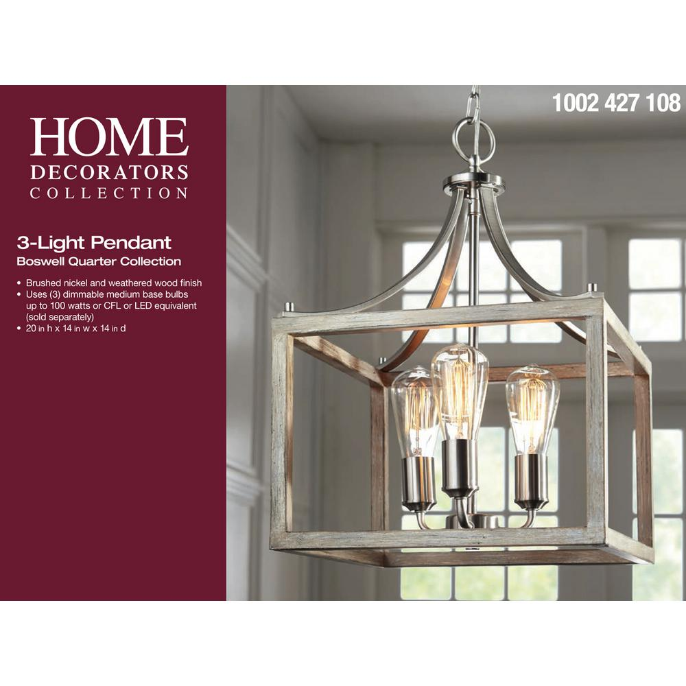 Home Decorators Collection | Boswell Quarter 14 in. 3 ...