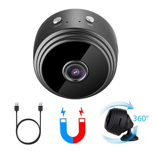 Mini Spy Camera Wireless Hidden Small Nanny Cam Micro Security Pinhole Covert Cameras Hd 1080P Audio Night Vision Home Outdoor Recording