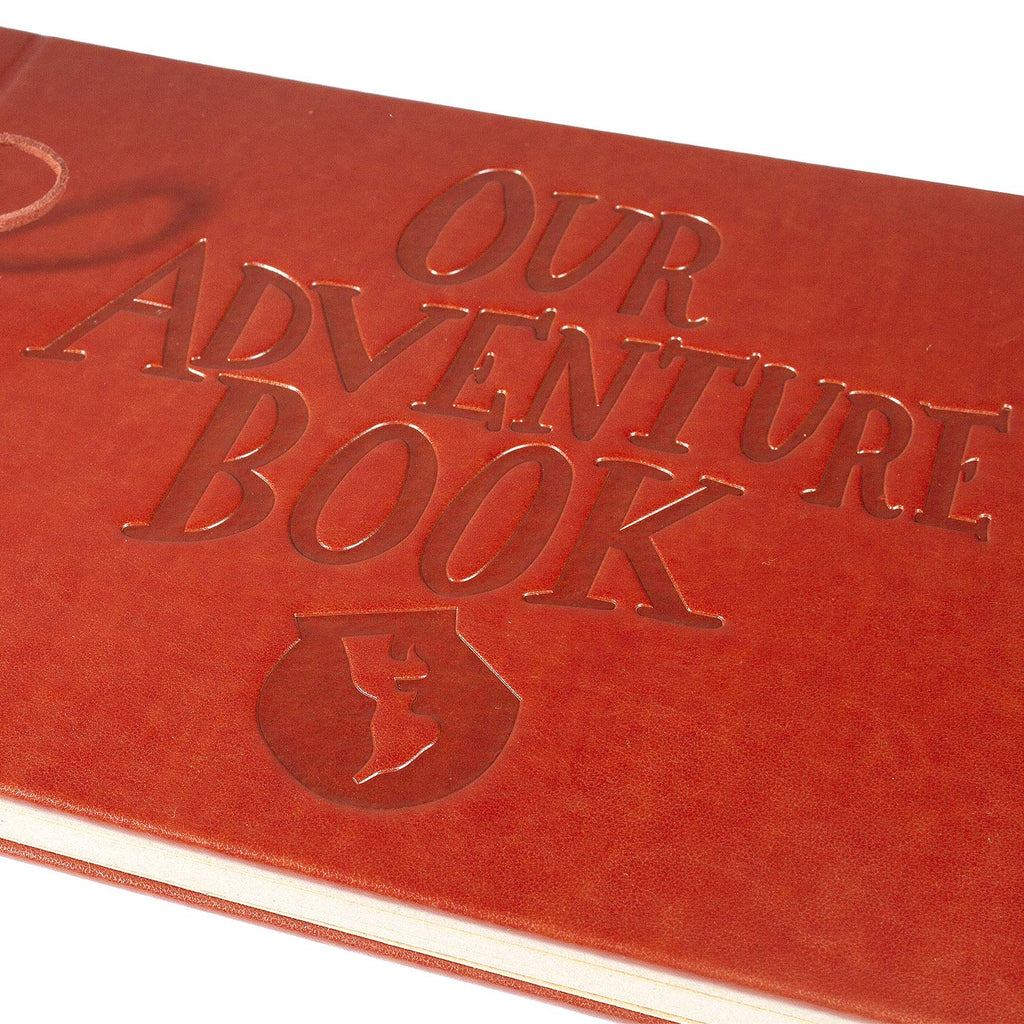 Pulaisen Leather Scrapbook - up Our Adventure Book - Vintage