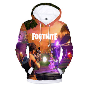 2018 Hot Game Fortnite Hoodies Men/women 3D Print Fashion  Hip Hop Men's Hoodies and Sweatshirt 3D fortnite Clothing 4XL