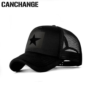 CANCHANGE Fashion Brand Baseball Cap Women Outdoor Baseball Hat Breathable Men Women Summer Mesh Cap Baseball-Caps Gorras