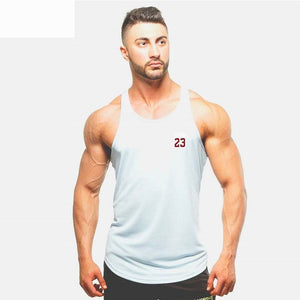 c15a7d3bdb469d Summer Brand Clothing Jordan 23 Men Vest T-Shirt Cotton Print Men Fitness Tank  Tops