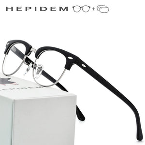 Glasses Frame Men Metal Round Eye Eyeglasses for Women Metal Myopia Optical Frames Spectacles Eyewear