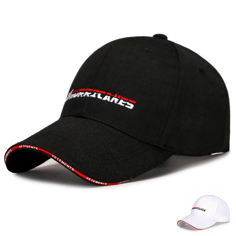 Spring and autumn golf cap outdoor sun hat casual hat men and women sun hat Boutique hat New two-color embroidered baseball cap,