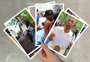 striking imagery of the Occupy movement in Zuccotti Park, Manhattans Wall Street district are included in this premium limited edition post card set by photographer Carl Posey