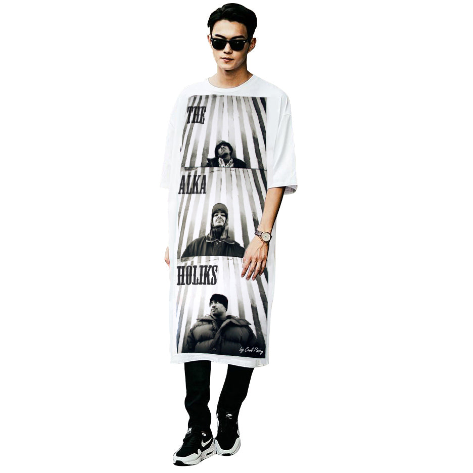 Tha Alkaholiks Carl Posey Photo Cotton Men's Long T-Shirt