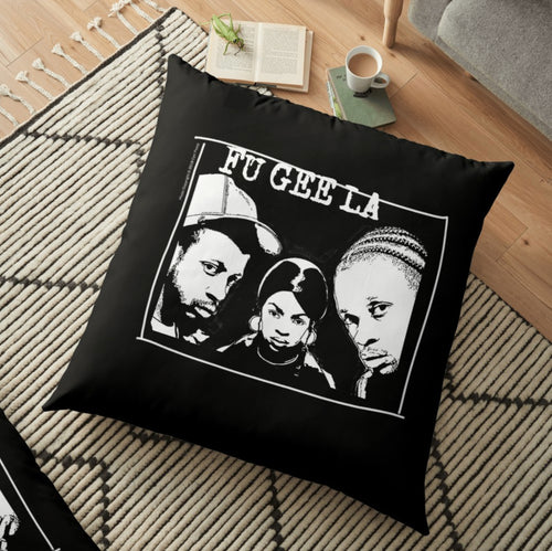 The Fugees x Carl Posey Floor Pillow