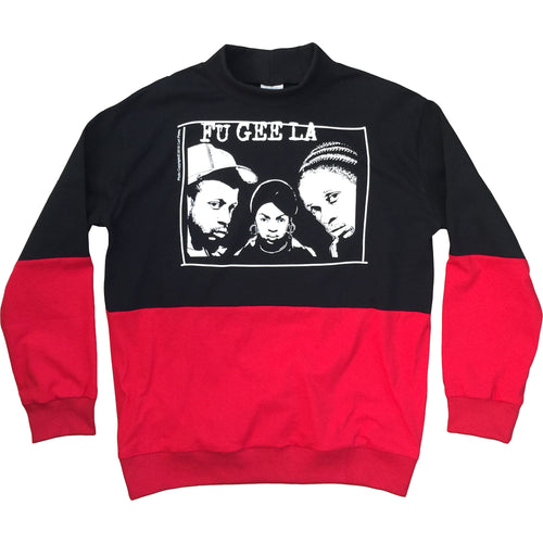 The Fugees x Carl Posey Adult L/S Color Block Turtleneck Sweater