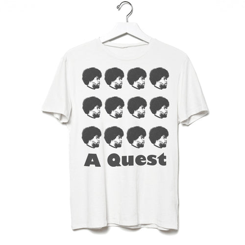 Quest Love x Carl Posey Premium Adult T-Shirt White