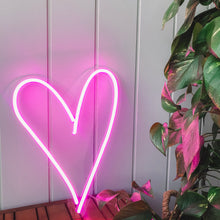 Load image into Gallery viewer, Heart Neon Sign