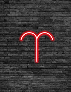Aries Neon Sign