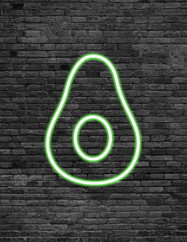 Avocado Neon Sign