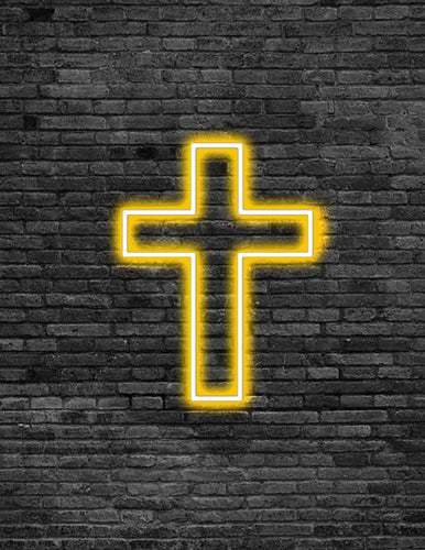 Cross Neon Sign