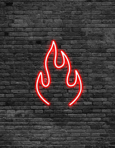 Flame Neon Sign