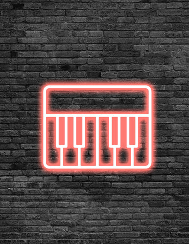 Keyboard Neon Sign