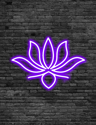 Lotus Flower Neon Sign