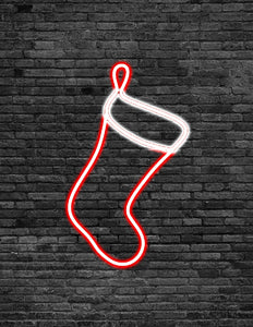Stocking Neon Sign