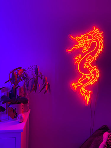 Dragon Neon Sign