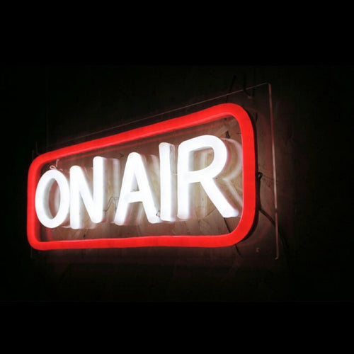 'ON AIR' Neon Sign